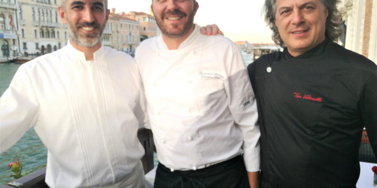 Spaghetti, anguilla e dolce: come i tre tenori, ma in cucina