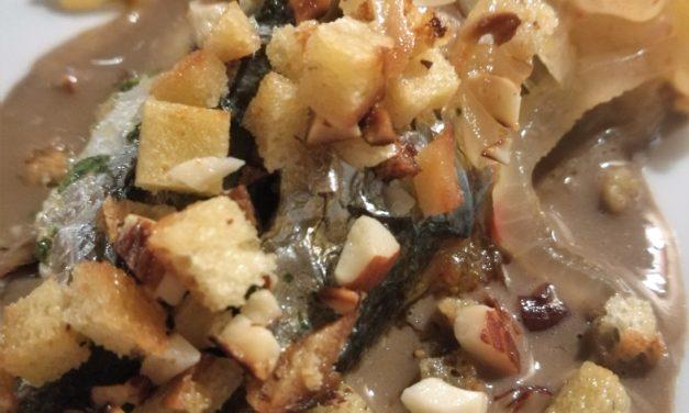 Le splendide sarde e i sapori della cucina veneziana