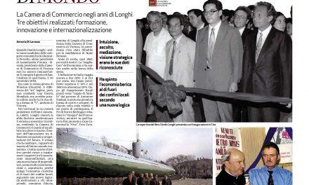 Un libro su Danilo Longhi presidente della Camera di commercio (1983-2002) e l'economia vicentina